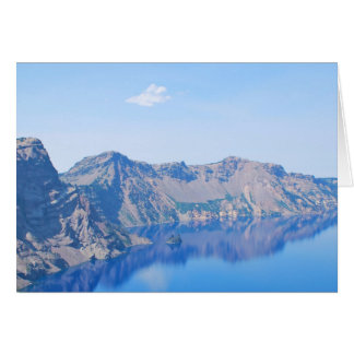 Panorama Crater Lake Card