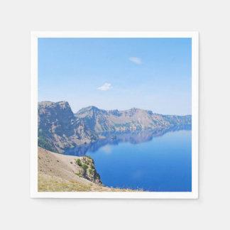Panorama Crater Lake Disposable Napkins