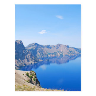 Panorama Crater Lake Postcard