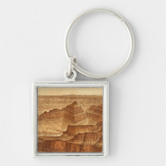 Panorama from Point Sublime Keychains