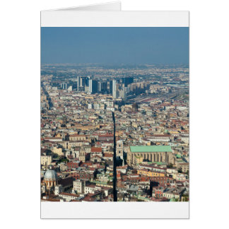Panorama of Naples Card