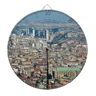 Panorama of Naples Dartboard