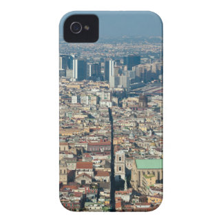 Panorama of Naples iPhone 4 Case-Mate Case