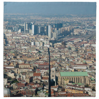 Panorama of Naples Napkin