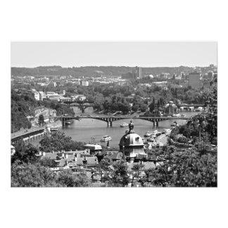 Panorama of Prague from the Prague Castle Photo Print
