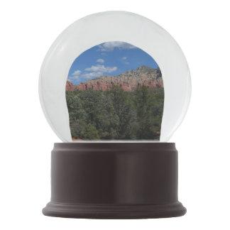 Panorama of Red Rocks Snow Globes