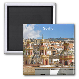 Panorama of Seville. Magnet