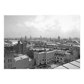 Panorama of the center of Moscow. Photo Print