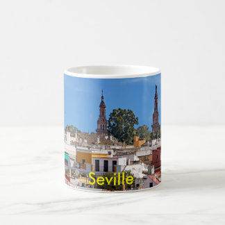Panorama of the city of Seville Coffee Mug