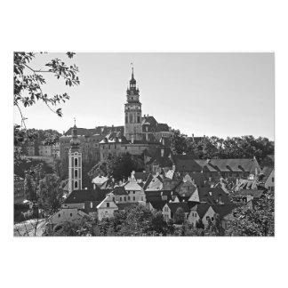 Panorama of the town Cesky Krumlov Photo Print