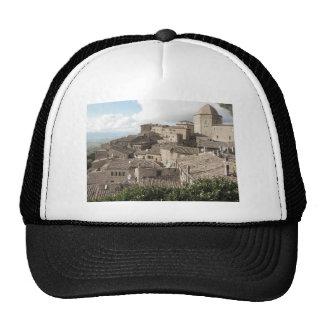 Panorama of Volterra village, province of Pisa Cap