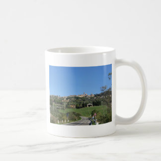 Panorama of Volterra village, province of Pisa Coffee Mug