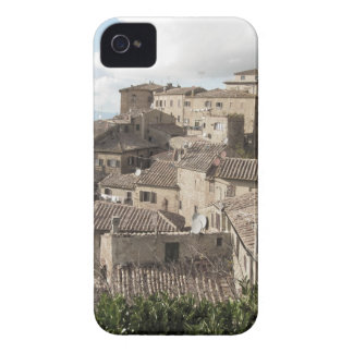 Panorama of Volterra village, province of Pisa iPhone 4 Case-Mate Cases
