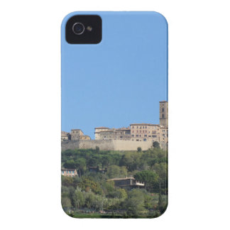 Panorama of Volterra village, province of Pisa iPhone 4 Covers