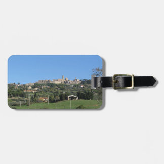 Panorama of Volterra village, province of Pisa Luggage Tag