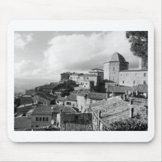 Panorama of Volterra village, province of Pisa Mouse Pad