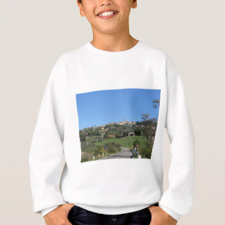 Panorama of Volterra village, province of Pisa Sweatshirt