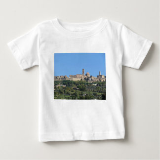Panorama of Volterra village, Tuscany, Italy Baby T-Shirt