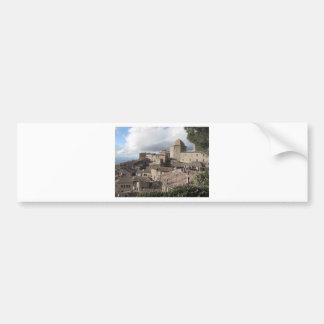 Panorama of Volterra village, Tuscany, Italy Bumper Sticker