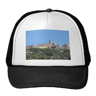 Panorama of Volterra village . Tuscany, Italy Cap