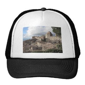 Panorama of Volterra village, Tuscany, Italy Cap