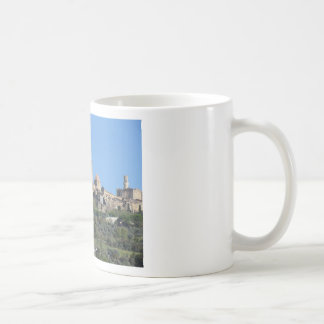 Panorama of Volterra village . Tuscany, Italy Coffee Mug