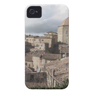 Panorama of Volterra village, Tuscany, Italy iPhone 4 Case-Mate Case