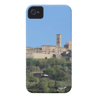Panorama of Volterra village, Tuscany, Italy iPhone 4 Cover