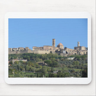 Panorama of Volterra village, Tuscany, Italy Mouse Pad