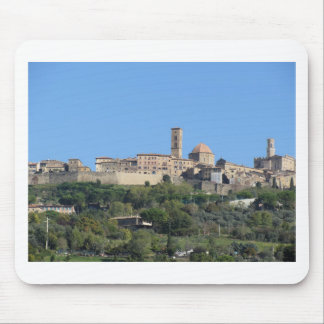 Panorama of Volterra village . Tuscany, Italy Mouse Pad