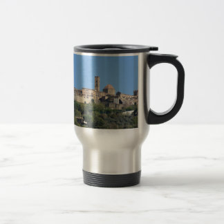 Panorama of Volterra village . Tuscany, Italy Travel Mug