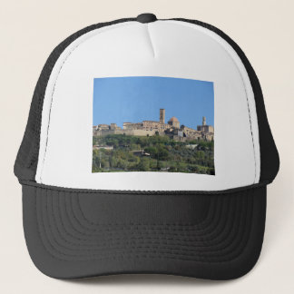 Panorama of Volterra village . Tuscany, Italy Trucker Hat