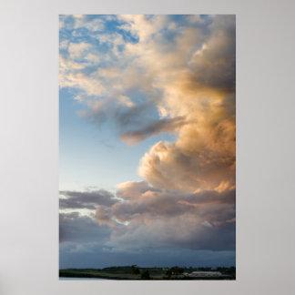 Panorama: Skies over Grenada Poster