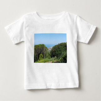 Panoramic aerial view of Livorno city Baby T-Shirt