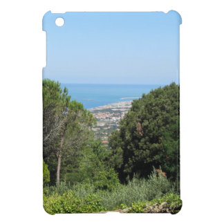 Panoramic aerial view of Livorno city iPad Mini Cases