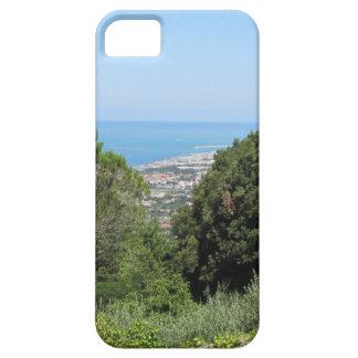 Panoramic aerial view of Livorno city iPhone 5 Cases