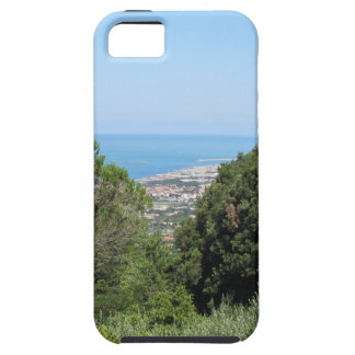 Panoramic aerial view of Livorno city iPhone 5 Cover
