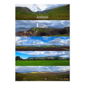 Panoramic Ireland Photo Print