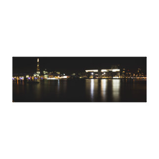 Panoramic London Canvas Print