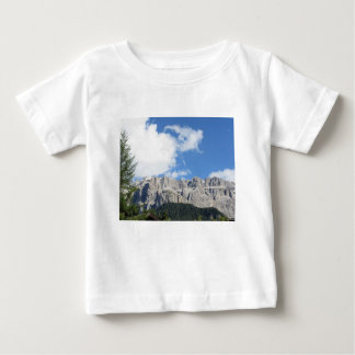 Panoramic mountain view of the Dolomites Baby T-Shirt