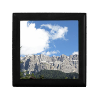 Panoramic mountain view of the Dolomites Gift Box