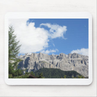 Panoramic mountain view of the Dolomites Mouse Pad