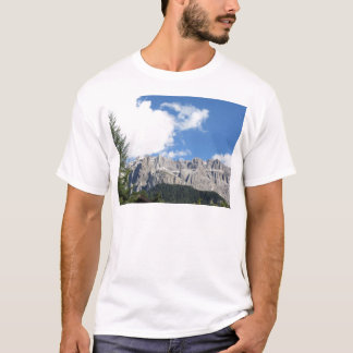 Panoramic mountain view of the Dolomites T-Shirt