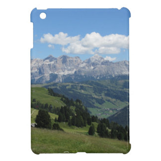 Panoramic mountain view of the italian Dolomites Case For The iPad Mini