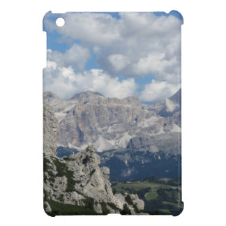 Panoramic mountain view of the italian Dolomites Cover For The iPad Mini