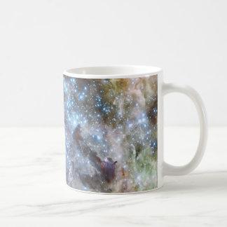 Panoramic Nebula Star cluster Basic White Mug