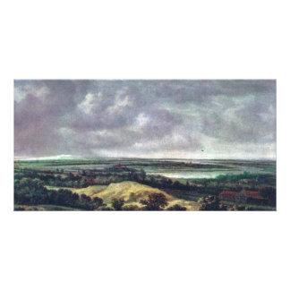 Panoramic River Landscape., Nederlands, Card