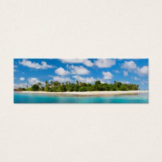 Panoramic seascape mini business card