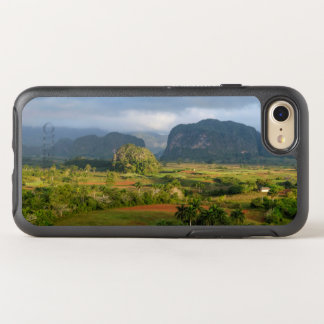 Panoramic valley landscape, Cuba OtterBox Symmetry iPhone 7 Case