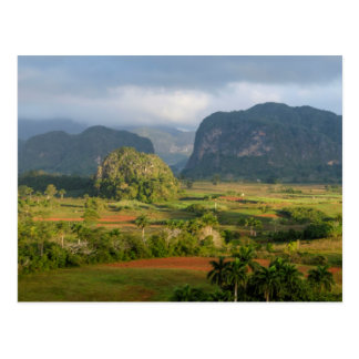 Panoramic valley landscape, Cuba Postcard
